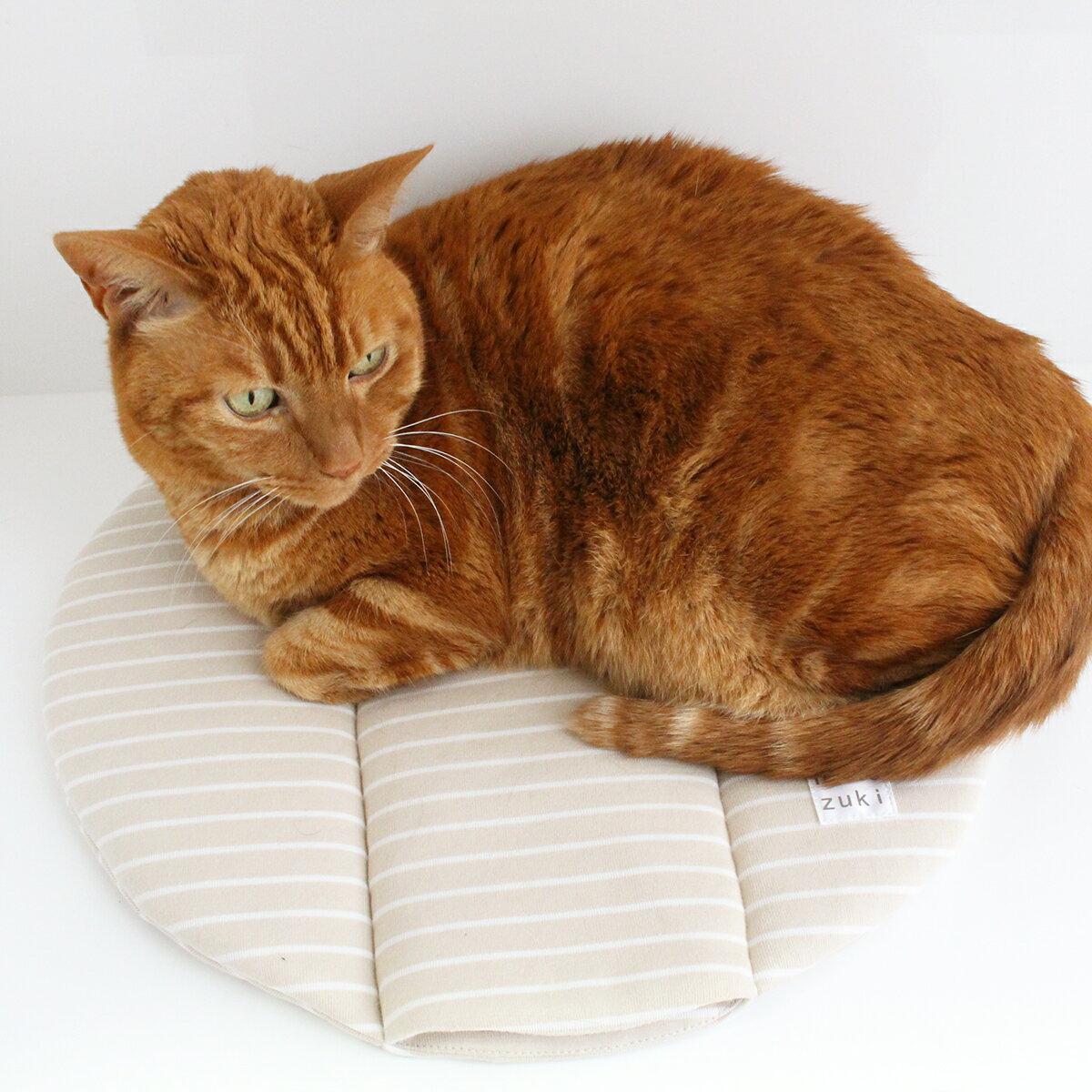 マット ぽかぽかマットPOCKET 猫 ベッド ROUND
