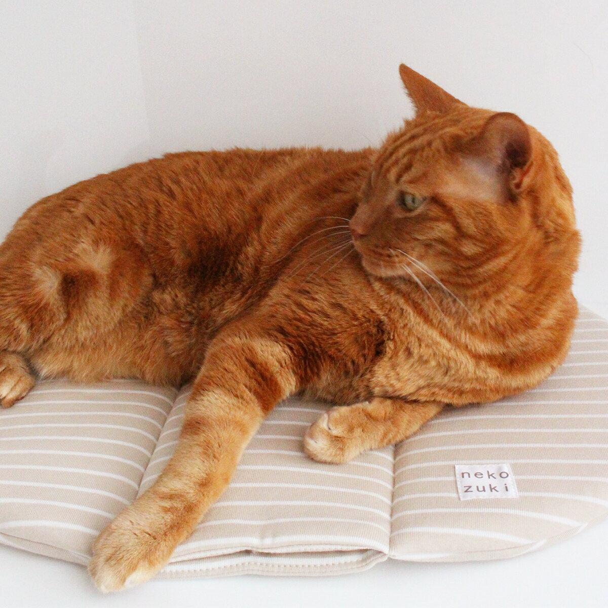 マット ぽかぽかマットPOCKET 猫 ベッド OVAL