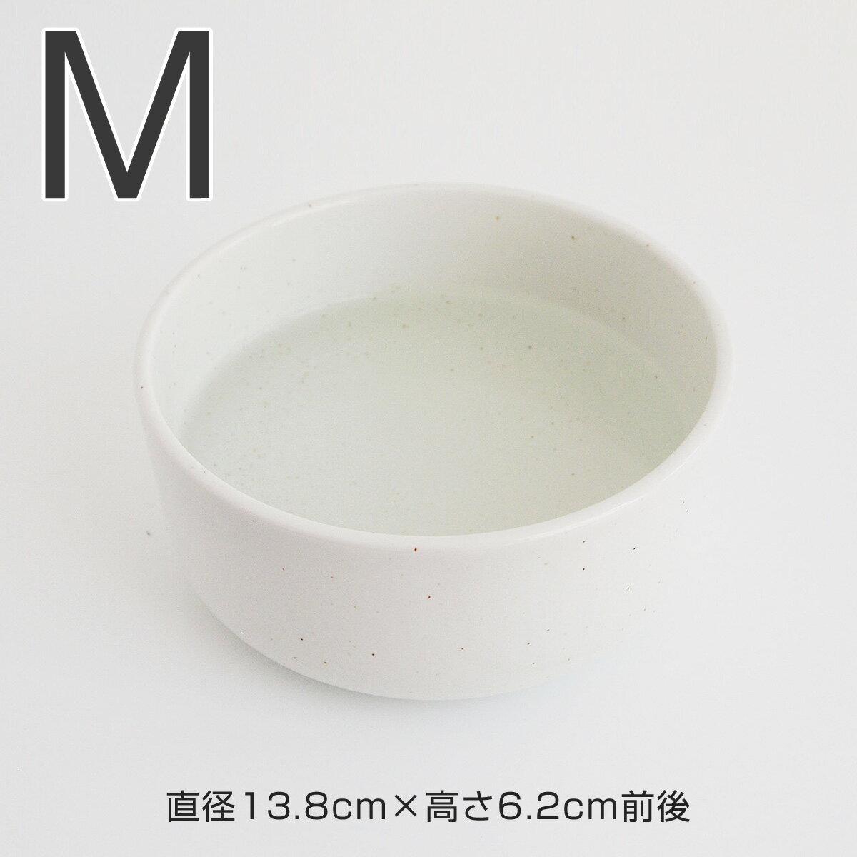 食器 ヘルスウォーター 猫 ボウル M バニラホワイト