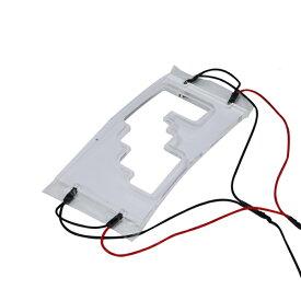 送料無料 シフトゲートLED ルームランプ トヨタ アクア 10系 ブルー/グリーン/ピンク/ホワイト LEDイルミネーション シフトノブ シフトゲート LEDパネル ルームランプ インテリアパネル