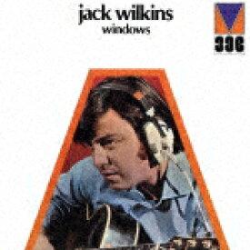 【ポイント10倍】ジャック・ウィルキンス/ウィンドウズ (完全限定生産盤/日本初CD化)[CDSOL-45224]【発売日】2017/3/22【CD】