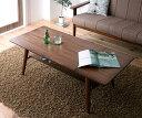 【ポイント10倍】【単品】ローテーブル Lサイズ(幅90-120cm)【Noyie】ブラウン 天然木北欧デザイン伸長式エクステン…