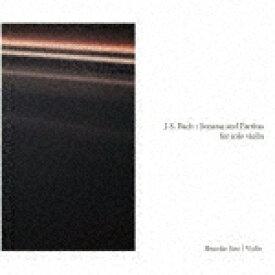 【ポイント10倍】佐藤俊介/J.S.バッハ:無伴奏ヴァイオリンのためのソナタとパルティータ BWV1001−1006[KKC-6062]【発売日】2019/7/30【CD】