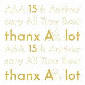【ポイント10倍】AAA/AAA 15th Anniversary All Time Best −thanx AAA lot− (初回生産限定盤/デビュー15周年記念)[AVCD-96448]【発売日】2020/2/19【CD】