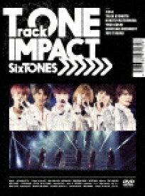 【ポイント10倍】SixTONES/TrackONE −IMPACT− (初回盤/244分)[SEBJ-1]【発売日】2020/10/14【DVD】