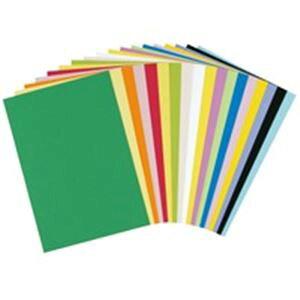 【ポイント10倍】(業務用10セット)大王製紙 再生色画用紙/工作用紙 【四つ切り 10枚】 レモン