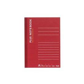 【ポイント10倍】(まとめ)プラス ノートブック NO-405AS A6 A罫【×50セット】