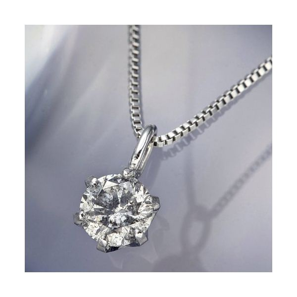 【ポイント10倍】プラチナPt0.1ctダイヤモンドペンダント/ネックレス