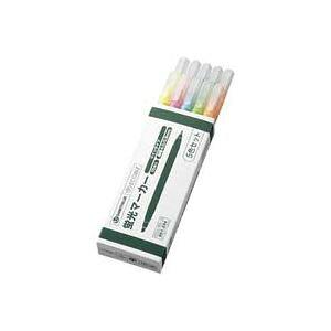【ポイント10倍】(業務用10セット)ジョインテックス 蛍光ツインマーカー5色入10本 H023J-MIX-10