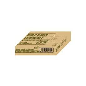 【ポイント10倍】(まとめ)オルディ ポリ袋エコBOX45L乳白半透明PBE-W45-200【×2セット】