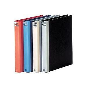 【ポイント10倍】(まとめ) マルマン ダブロックファイル A4タテ 30穴 200枚収容 背幅38mm ブルー F948R-02 1冊 【×5セット】