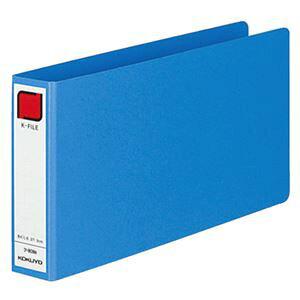 【ポイント10倍】(まとめ) コクヨ 統一伝票用Kファイル B4・1/3ヨコ 300枚収容 背幅42mm 青 フ-809B 1冊 【×10セット】