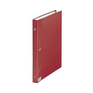 【ポイント10倍】プラス クリアーファイル40P FC-124EL A4S 赤 10冊