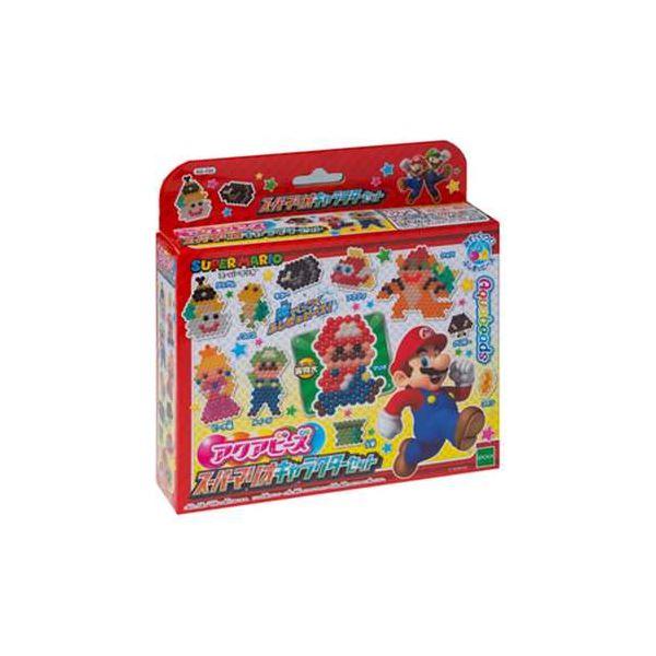 【ポイント10倍】エポック社 AQ-234 アクアビーズ スーパーマリオキャラクターセット 【アクアビーズ】
