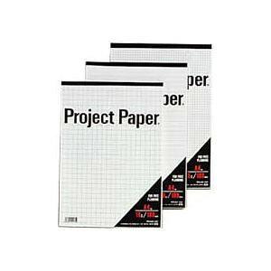 【ポイント10倍】(まとめ) オキナ プロジェクトペーパー A4 5mm方眼 100枚 PPA45S 1冊 【×15セット】