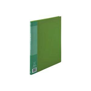 【ポイント10倍】(業務用20セット) ジョインテックス クリアファイル/ポケットファイル 【A4/タテ型 10冊入り】 10ポケット 緑 D046J-10GR