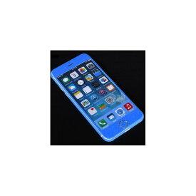 【ポイント10倍】(まとめ)ITPROTECH 全面保護スキンシール for iPhone6Plus/ブルー YT-3DSKIN-BL/IP6P【×10セット】