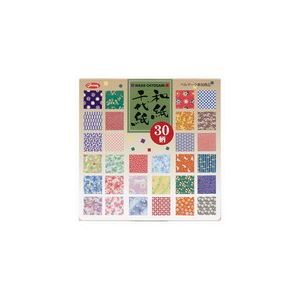 【ポイント10倍】(業務用10セット) ショウワグリム 和紙千代紙 30柄150枚 23-1999