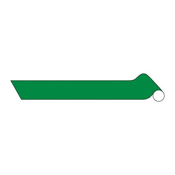【ポイント10倍】配管識別テープ AH305(中) ■カラー:反射緑 100mm幅【代引不可】