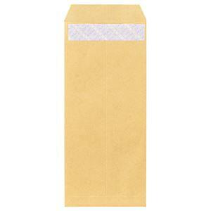 【ポイント10倍】(まとめ) ピース R40再生紙クラフト封筒 テープのり付 長4 70g/m2 〒枠あり 841 1パック(100枚) 【×10セット】