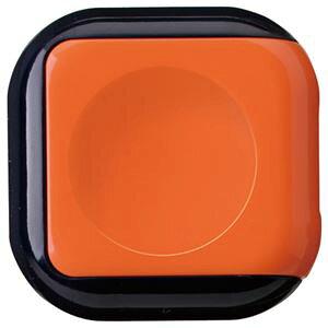 【ポイント10倍】(まとめ) サンビー 朱肉 シュイングベベ キャロットオレンジ SG-B01 1個 【×20セット】