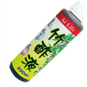 【ポイント10倍】竹酢液 200ml【100個セット】 AT-02