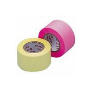 【ポイント10倍】(業務用100セット) ヤマト メモックロール替テープ蛍光 WR-25H-6A