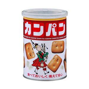 【ポイント10倍】三立製菓 缶入カンパン 100g 1ケース(24缶)