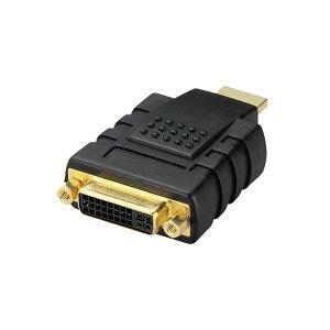 【ポイント10倍】(まとめ) エレコム DVI HDMI変換アダプタ(DVI-D24pin)メス-HDMIオス AD-DTH 1個 【×5セット】