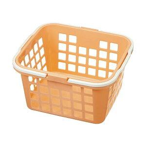 【ポイント10倍】(まとめ)アサヒ化成 サンテール バスケット#28 ペールオレンジ K-0228 1個 【×50セット】