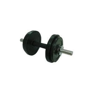 【ポイント10倍】ラバーダンベル 10kgセット 重量調整可能