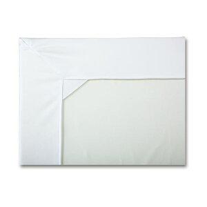 【ポイント10倍】カネモ商事 Lor防水シーツ ボックス型マットカバータイプ ホワイト 1枚