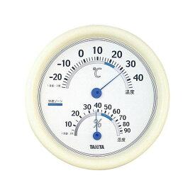 【ポイント10倍】(まとめ) タニタ 温湿度計 TT-513 ホワイト【×5セット】