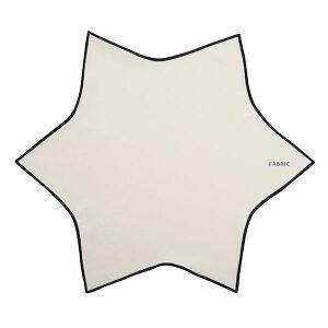 【ポイント10倍】FABRIC(ファブリック) メガネ拭き ポケットチーフ クリーニングクロス【オフホワイト】