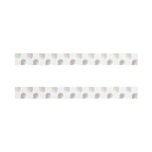 【ポイント10倍】(まとめ)コクヨ 消しゴム カドケシスティックつめ替え用消しゴム(ホワイト・ホワイト)ケシ-U600-1 1セット(20本:2本×10パック)【×10セット】