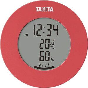 【ポイント10倍】タニタ デジタル 温湿度計 ピンク TT-585