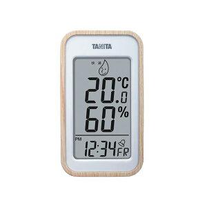 【ポイント10倍】TANITA デジタル温湿度計 ナチュラル 100-05G【代引不可】