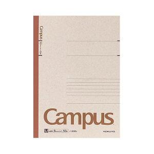 【ポイント10倍】(まとめ) コクヨ キャンパスノート(太横罫) A4 U罫 50枚 ノ-205U 1セット(5冊) 【×10セット】