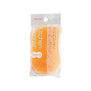 【ポイント10倍】(まとめ)アイセン キッチンクリーナーハード オレンジ KF101-OR 1個【×50セット】