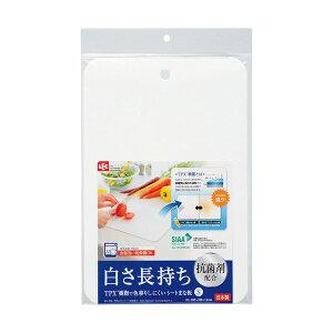 【ポイント10倍】(まとめ)レック 抗菌剤配合 汚れにくいシートまな板 S KK-218 1枚 【×10セット】