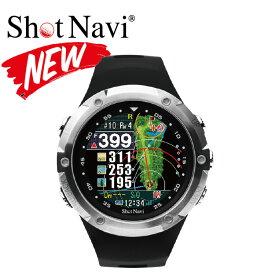 [あす楽16時までOK!ポイント10倍] ShotNavi W1 Evolve /ショットナビ W1エボルブ 《フルカラー腕時計タイプ》(ゴルフナビ/GPSゴルフナビ/GPSナビ/距離計/距離測定器 / みちびきL1S対応 ゴルフ用品 ゴルフ用具 ゴルフ ナビ )
