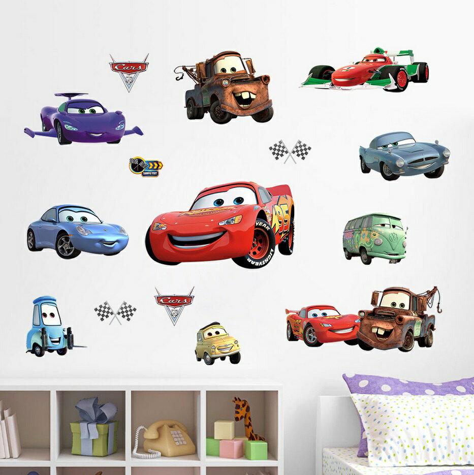 Disney cars2 ディズニー カーズ2 ウォールステッカーインテリアシール 貼って 剥がせる 壁紙 壁シール