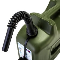 【ヒューナースドルフ】Hunersdorff燃料タンクポリタンクフューエルカンプロ10Lウォータータンク801000オリーブ燃料灯油タンクキャニスターキャンプ[並行輸入品]