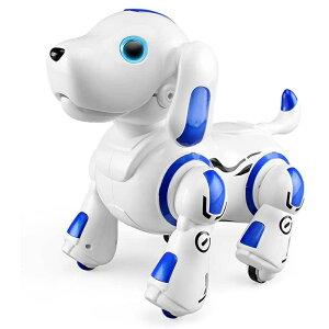 ロボットおもちゃ 犬 電子ペット ロボットペット ブルー レッド 青 赤 2カラー 最新版ロボット犬 子供のおもちゃ 誕生日 子供の日 犬型ロボット 犬ぬいぐるみ 犬のロボット AIペット 人工知