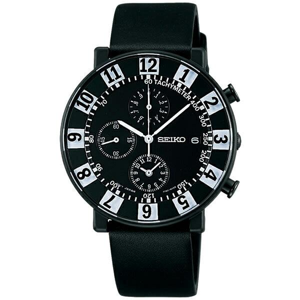 セイコー スピリット スマート SEIKO SPIRIT SMART SOTTSASS エットレ・ソットサス コラボ 復刻版 限定モデル 腕時計 メンズ クロノグラフ SCEB041【あす楽】