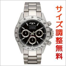 テクノス メンズ 腕時計 TECHNOS TSM401SB クロノグラフ クオーツ ブラック 【お取り寄せ商品】 正規品