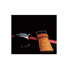 時計 ベルト 時計ベルト 腕時計ベルト 時計バンド 時計 バンド 腕時計バンド 牛革型押し カーフ メンズ ワイド幅 パネライ・ディーゼル・フォッシル等対応 BK111