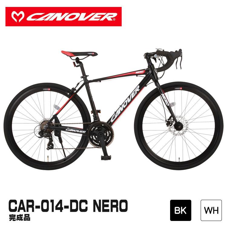 ロードバイク CANOVER カノーバー CAR-014-DC NERO ネロ 完成品