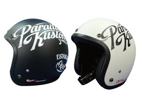 ☆【HEAT GROUP×OILSHOCK DESIGNS】GARAGE OF ACE ジェットヘルメット ガレージオブエース アメリカン シングル かっこいい おしゃれ フリーサイズ ヒートグループ オイルショックデザインズ【バイク用品】