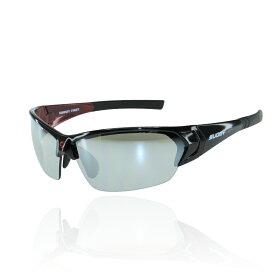 ☆【SUOMY EYEWEAR】スオーミー アイウェアサングラスSU-011 MODELフレームカラー:ブラックレッドレンズカラー:ブラックミラー可視光線透過率22% 【バイク用品】